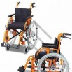 Pediatric Aluminum Wheelchair with Drum Brake and Anti-tippers