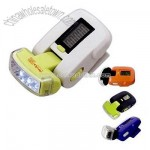 Pedometer with 3 LED light