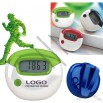 Pedometer with Calorie and Distance Calculations