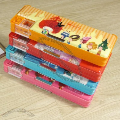 Pen Box with Pencil Sharpener