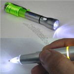 Pen With Flashlight and Lanyard