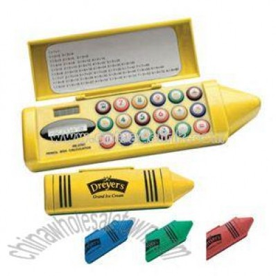 Pencil Box Eight Digits Calculator