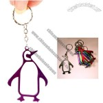 Penguin Bottle Opener Key ring / keychains