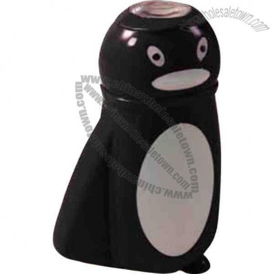 Penguin Shaped Flashlight With Battery And Hand Generator