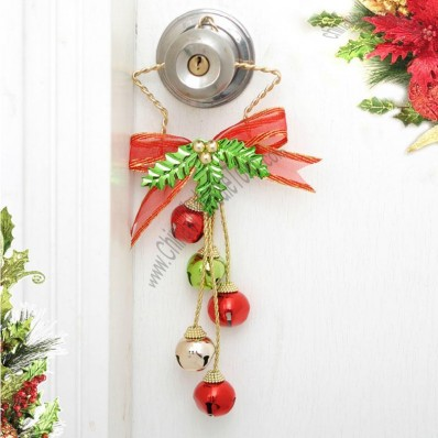 Pentagram Bells Christmas Doors Hanging