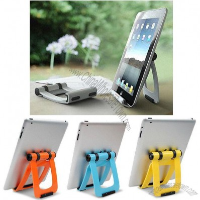 Perfect Stand for iPad 1, iPad 2, E-book, Foldable Design, Easy to Carry