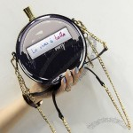 Perfume Bottle Handbag with Chain Strap