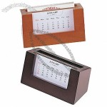 Perpetual Calendar Business Card Holder