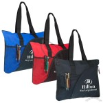 Personalised Deluxe Zippered Tote Bag