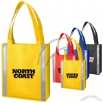 Personalized 80 GSM Non-Woven Reflective Tote Bags