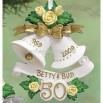 Personalized Anniversary Bell Ornament