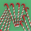 Personalized Candy Cane Pencils