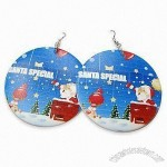 Personalized Christmas Earrings