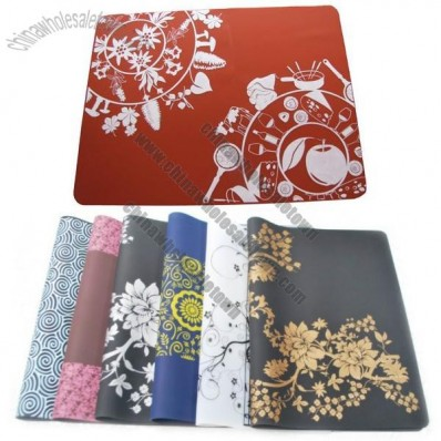 Personalized Color Silicone Non Slip Table Mat, Silicone Pad, Silicone Placemat