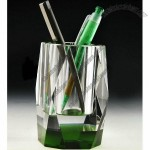 Personalized Crystal Pen Holder