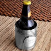 Personalized Koozie with Pewter Medallion