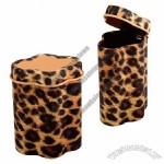 Personalized Leopard Tin Box