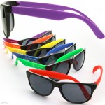 Personalized Rubberized Sunglasses
