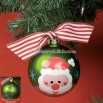 Personalized Santa Claus Christmas Tree Ornament