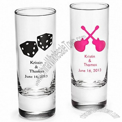 Personalized Shot Glass - NEW DESIGNS