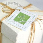 Personalized Wedding Favor Gift Tags