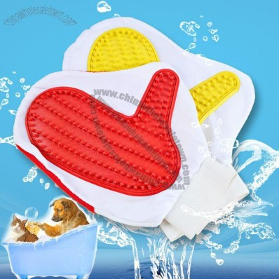 Pet Massage Bath Gloves