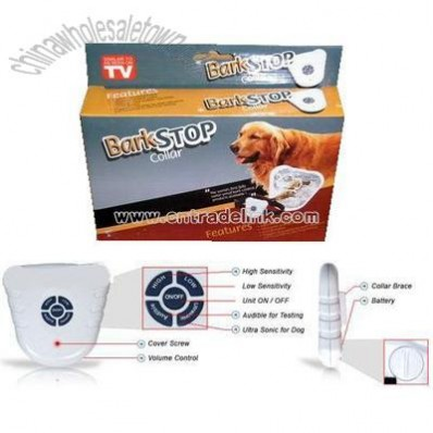 Pet Ultrasonic Bark Stop Collar-CE