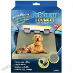 PetZoom Loungee Auto Pet Seat Cover- As Seen on TV