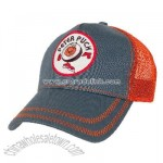 Peter Puck Retro Meshback Cap (Steel Blue)