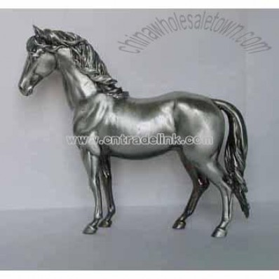 Pewter Horse, Pewter Animal, China Wholesale Town Supplier