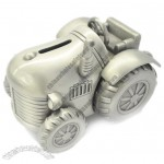 Pewter Tractor Piggy Bank