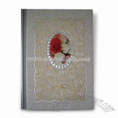 Photo Album with Fabric Cover