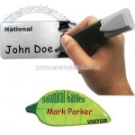 Photo Domed And Magnetic Write On Badge