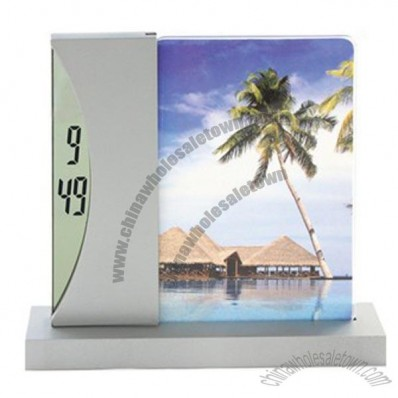 Photo Frame LCD Clock