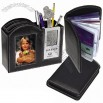 Photo Frame and Clock/Desk Organizer