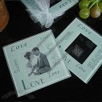 Photo Love Glass Coasters
