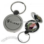 Photo Mirror Keychain