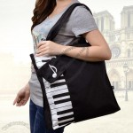 Piano Design Canvas Bag
