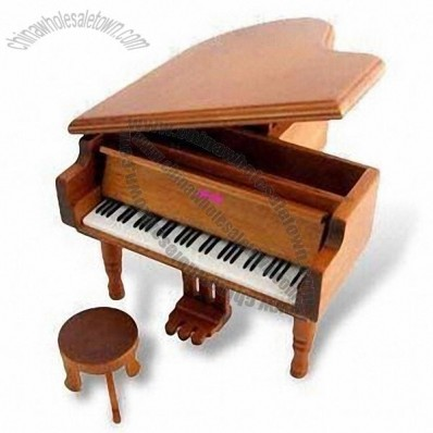 Piano Toy, Made of Solid Wood