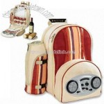 Picnic Backpack with Radio