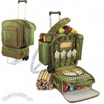 Picnic Time 'Excursion' Pine Green Picnic Cooler Set