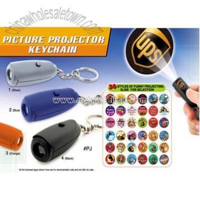 Picture Projector Keychain