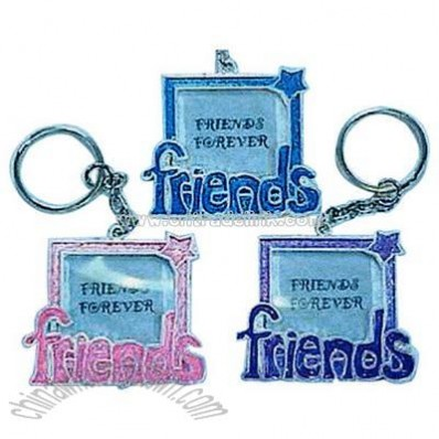 Picture frame key chain