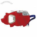 Pig Frame Lighter with Bottle Opener
