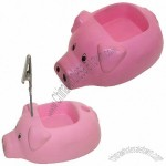 Pig Stress Reliever with Phone and Memo Holder