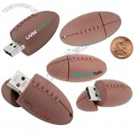 Pigskin USB Flash Drive - Rugby