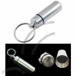 Pill Cache Container Box Case Keyring Drug Holder - Pill Box