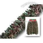 Pine Garland with Snowy/Red Accents - 3 Pack of 18-Foot Garlands