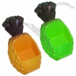 Pineapple Stress Ball with Cell Phone Holder