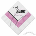 Pink Baby Shower Napkins
